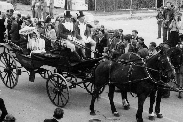 1951 Procession Angaston
