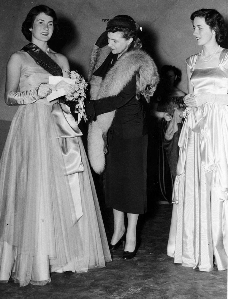 1951 Vintage Queen Joan Zerk 3 with 1950 Vintage Queen Maureen John