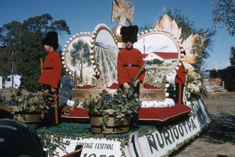 Nuriootpa float 1958