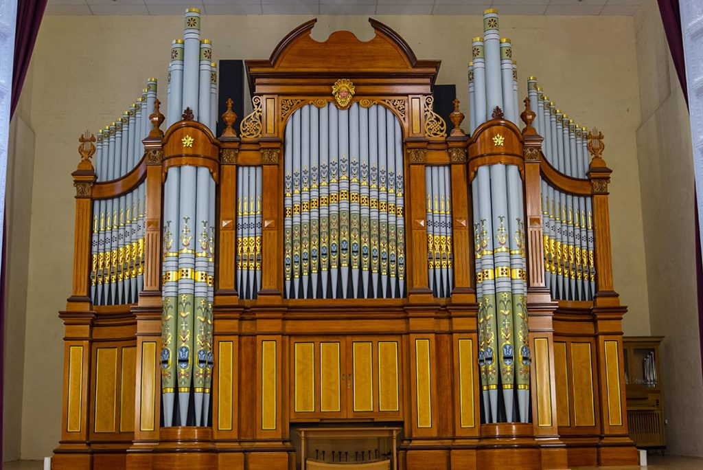 >> The Hill and Son Grand Organ
