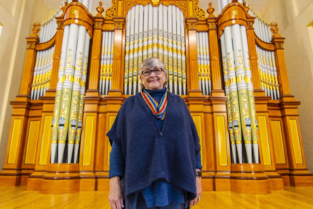 >> Margaret Lehmann is a strong advocate or the music and arts in the Barossa Valley.