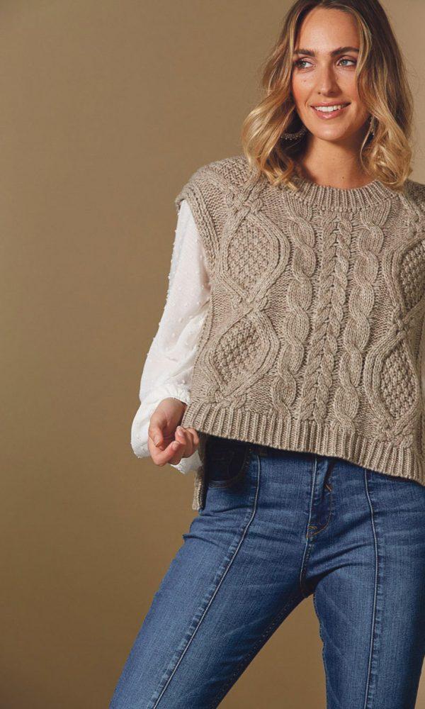 knit vest 2