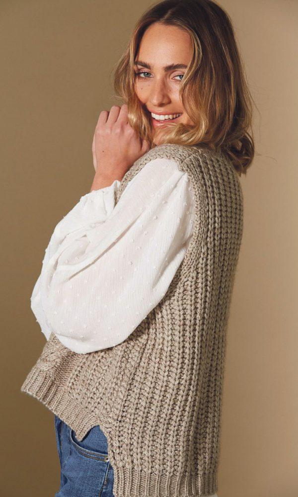 knit vest 3